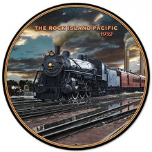 """HEAVY METAL VINTAGE  (SUBLIMATION PROCESS) SIGN MEASURES 28"""" DIAMETER WITH HOLES FOR EASY MOUNTING  WEIGHS APOX. 7 POUNDS  THIS IS A SPECIAL ORDER SIGN, NORMALLY TAKES 2-4 WEEKS FOR DELIVERY."""