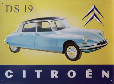 Photo of CITROEN  DS19 CLASSIC FRENCH CAR NICE COLORS AND ATTENTION TO DETAIL SIGN