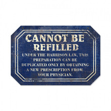 """Heavy Metal Sublimation Process SHAPED Sign, DISTRESSED LOOK  measures: 18"""" x 12"""" & weighs apox. 2 lbs.  With holes for easy mounting.  This is a Special Order sign that normally takes from 2-4 weeks to ship."""