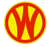 "SUBLIMATION PROCESS 24 GAUGE METAL SIGN WITH HOLE(S) FOR EASY MOUNTING, THIS SIGN HAS THE RED ""W"" IS ROUND AND MEASURES 14"" IN DIAMETER.  (THIS ITEM WILL BE IN STOCK APOX JAN 20TH 2018)"