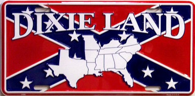 Photo of DIXIE LAND LICENSE PLATE