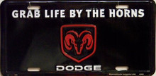 Photo of DODGE GRAB LIFE LICENSE PLATE