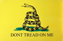 "Photo of DON'T TREAD ON ME ""FLAG"" WITH THE COILED SNAKE DATES BACK TO REVOLUTIONARY WAR TIMES"