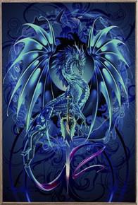 Dragonsword Seablade, Birch Wood Print S/O