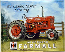 Photo of FARMALL M TRACTOR SIGN HAS GREAT COLORS AND SHARP DETAILS