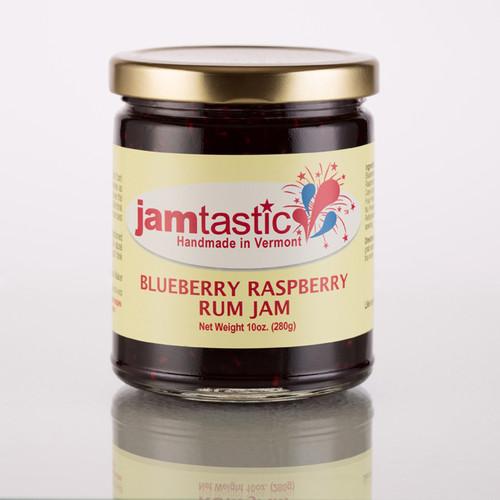 Blueberry Raspberry Rum Jam