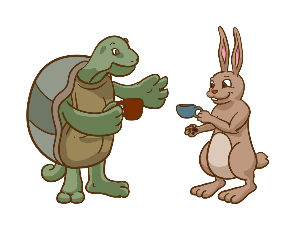 """The Tortoise & The Hare"" - a tale of hard vs. soft shaving soaps"