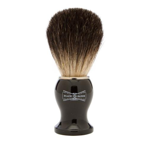 Pure Black Badger Brush