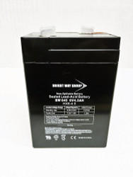 Bright Way Group 6V 4.5Ah SLA Battery with F1 Terminal