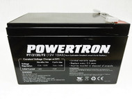 POWERTRON 12V 12Ah SLA Battery with F2 Terminal