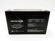 Bright Way Group 6V 12AH SLA Battery with F2 Terminal