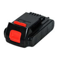 Replacement 2Ah Lithium-ion Battery for Black & Decker 20V Model LBXR20