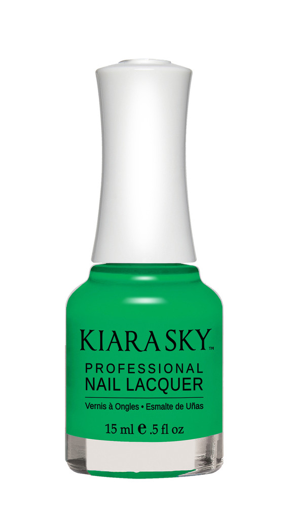 NAIL LACQUER - N448 GREEN WITH ENVY