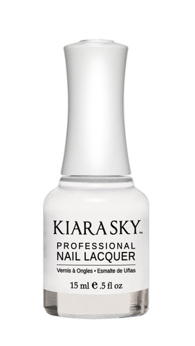 NAIL LACQUER - N401 PURE WHITE