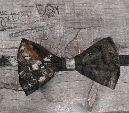 Mossy Oak Camo bow tie