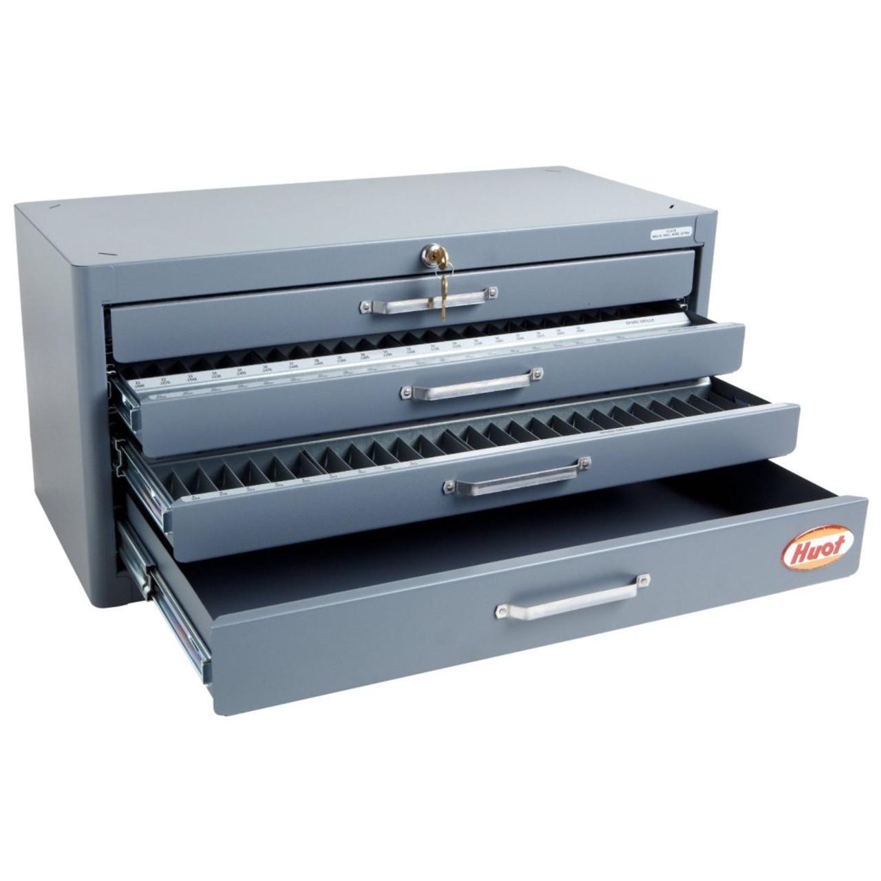 Huot 13175 | Fractional Wire Gage Letter Master Drill Dispenser ...