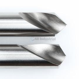 "YG1 0081L / 2081L | NC Spotting Drill 8% Cobalt HSS 1/8"" 90 & 120 Degree 2pc Set CNC Machine"