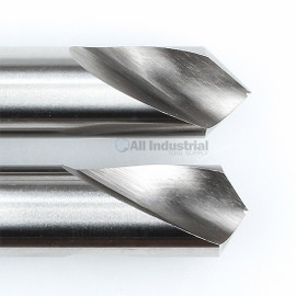 "YG1 0161L / 2161L   NC Spotting Drill 8% Cobalt HSS 1/4"" 90 & 120 Degree 2pc Set CNC Machine"
