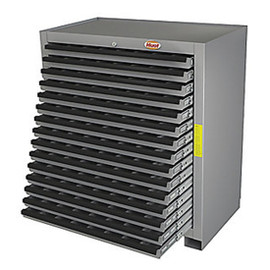 Huot 13525 | Super Cutting Tool Storage Cabinet, 15 Drawers, BB Slides