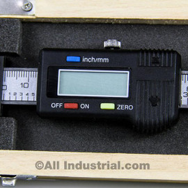 "All Industrial 30052 | 6"" X-Axis Digital Readout Scale Horizontal Bridgeport Mill Lathe DRO Output"