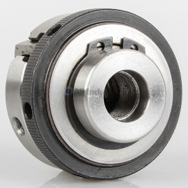 "All Industrial 47702 | Self-Centering Lathe Chuck Plain Back 2"" 3-Jaw 1/2""-20 Hardened"