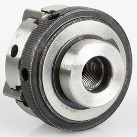 """All Industrial 47754   Self-Centering Lathe Chuck Plain Back 2-1/2"""" 4-Jaw M12-1 Hardened"""