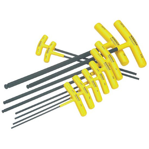 Bondhus 13138 | 10pc Cushioned Grip T-Handle Hex Tool Set