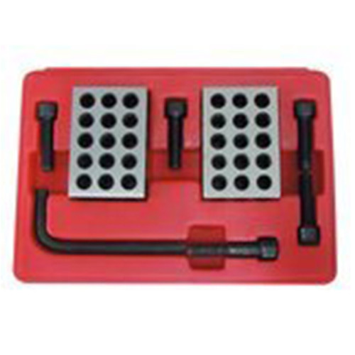 All Industrial 55550 | 8pc Precision 123 Blocks and Screw Clamping Set