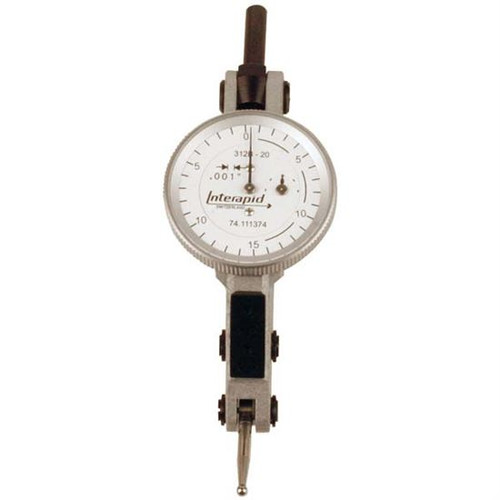 Interapid 312B-20 | 0-15-0 Horizontal Type Dial Test Indicator
