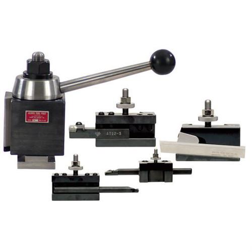 Aloris AXA-1-BS | 5pc. Starter Set Tool Post & Holders