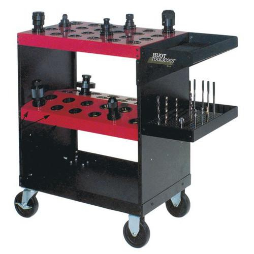 01-803-940 | HUOT CNC Tool Cart 48 Tool Capacity