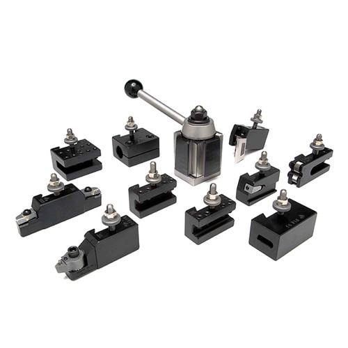 Aloris AXA-1-AS | 11pc. Tool Set Tool Post & Holders