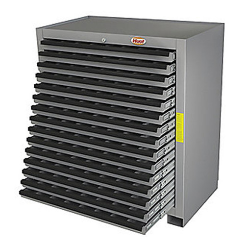 Huot 13525 | Super Cutting Tool Storage Cabinet, 15 Drawers, BB Slides