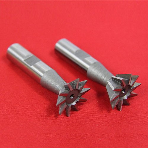 "All Industrial 19524 | 2pc 3/8"" X 45 Degree & 3/8"" X 60 Degree Dovetail Cutter Set High Speed Steel HSS Milling"