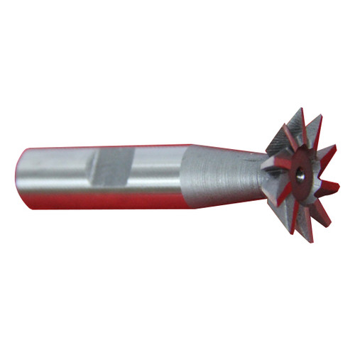 "All Industrial 19508 | 1pc 3/8"" X 60 Degree Premium HSS Dovetail Cutter Milling High Speed Steel"