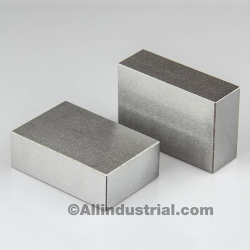 "All Industrial 55525 | Matched Pair Ultra Precision 1-2-3 Blocks No Holes .0001"" Machinist 123 Jig"