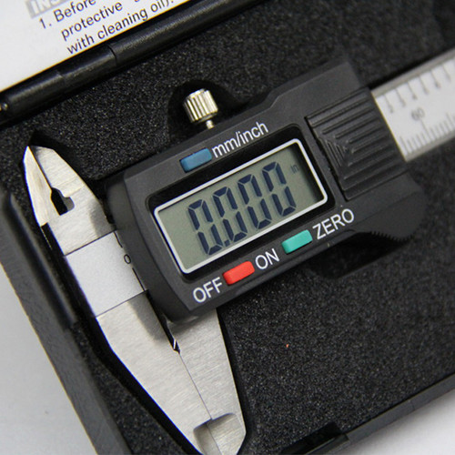 "All Industrial 51100 | High Precision 4"" Electronic Caliper Digital .0005"" Inch/Metric Stainless Lcd"