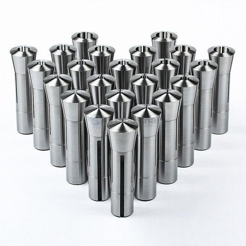 "All Industrial 41053 | 23pc R8 Collet Set Fractional 1/16"" to 3/4"" High Precsion for Bridgeport"