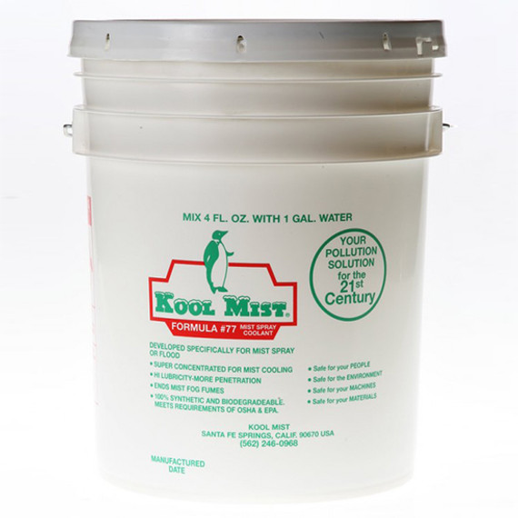 Kool Mist #77-5 GALLON | 5 Gallon Concentrated Coolant