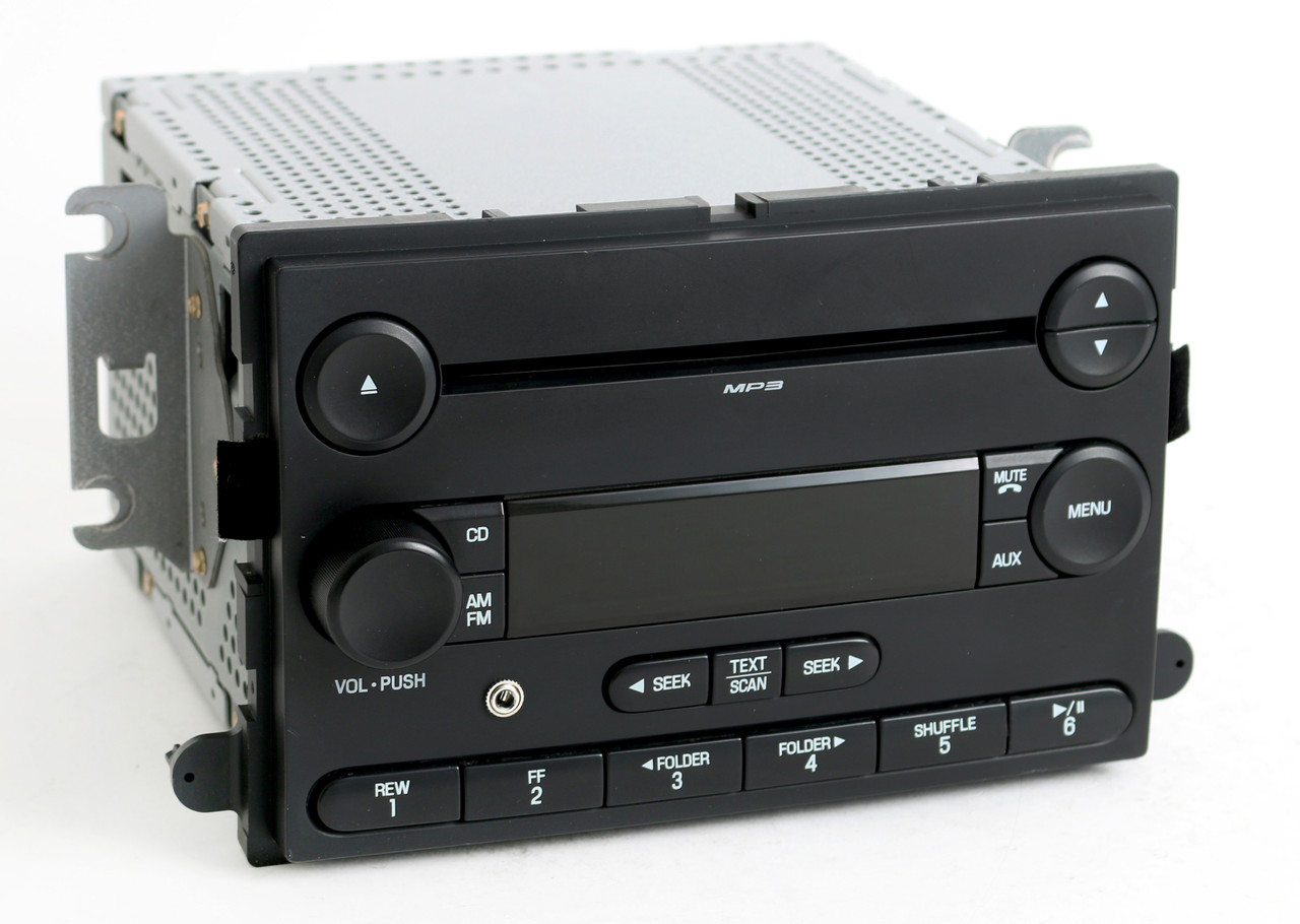 ford focus 2007 radio am fm mp3 cd player w auxiliary. Black Bedroom Furniture Sets. Home Design Ideas