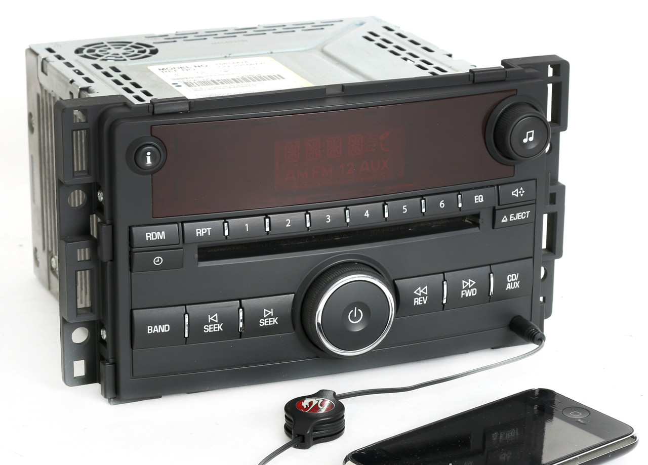 saturn 2006 2007 vue ion am fm cd player radio w aux mp3. Black Bedroom Furniture Sets. Home Design Ideas