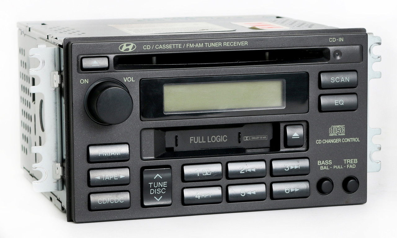 2002-2005 Hyundai Sonata Radio Am Fm Cassette Cd Player Part Number 96190-3d101