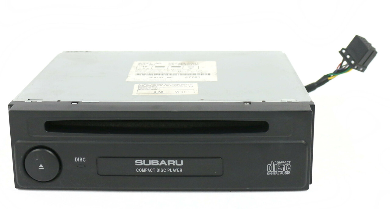 OEM 2000-2003 Subaru Forester Legacy Compact Disc Player Part ...