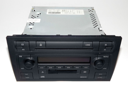 Audi A4 Symphony Ii Radio Am Fm Cs 6 Disc Cd Satellite 8e0