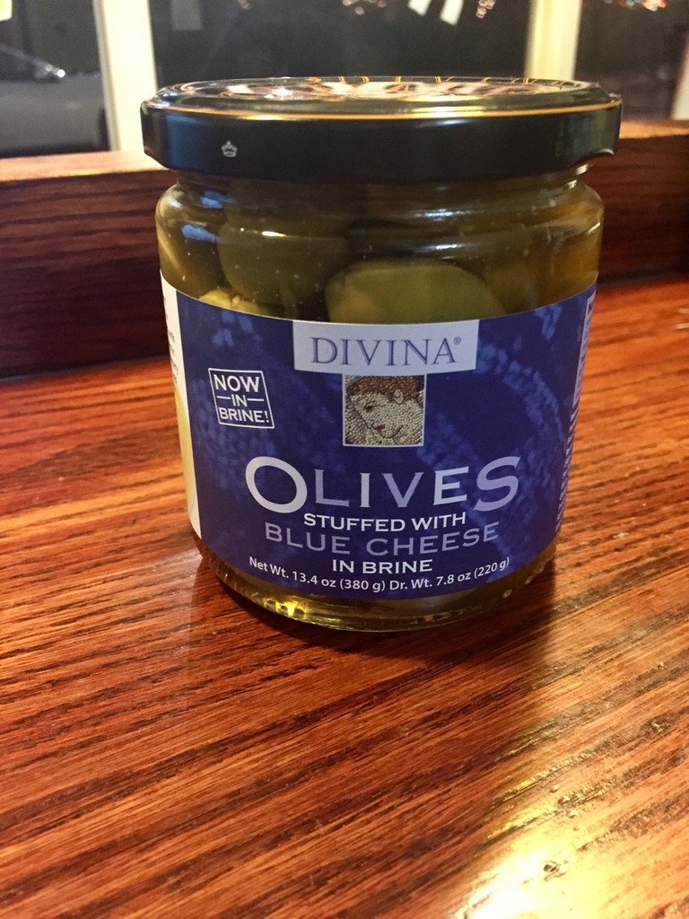 Divina Olives stuffed with Blue Cheese