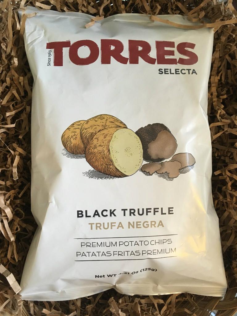 Torres Selecta - black truffle potato chips
