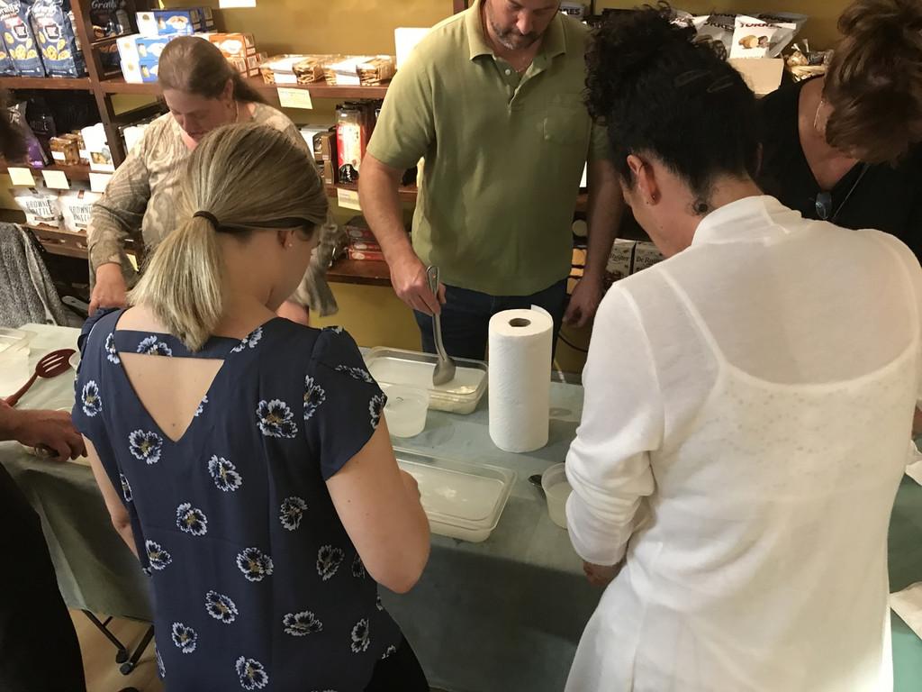 Olsson's Mozzarella Making