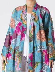 Samara  Aqua Kimono