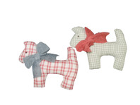 Set of 2 Lucy and Tom Assorted Dogs Small