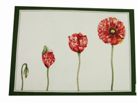 Set of 4 Green Springtime Placemats